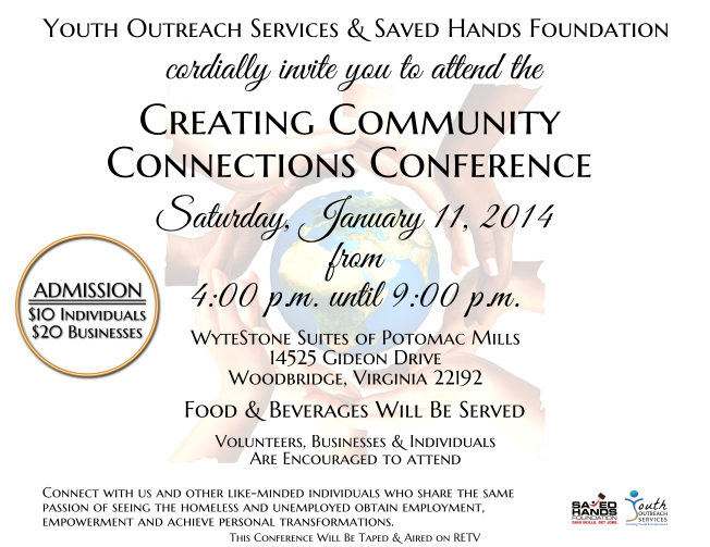 """Creating Community Connections"" Flyer"