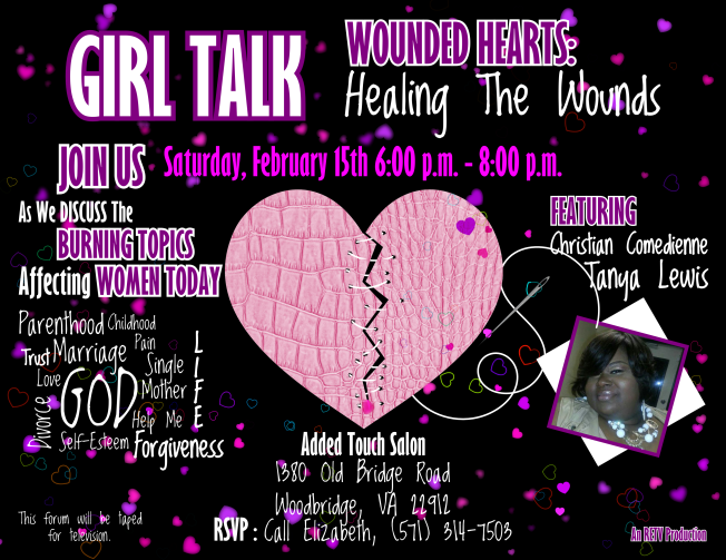 Girl Talk - Wounded Hearts Discussion RETV