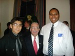Eddie Ostos, Antoine Harris, Congressman Gerald Connolly