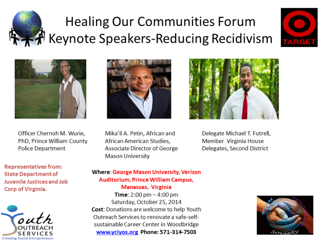 Healing Our Communities Forum